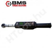 BMS SC065A-BT digitális kattanó szög és nyomatékkulcs, 20-65 Nm kattanás, 10-100 Nm, Bluetooth kétirányú adattovábbítás