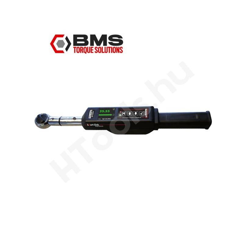 BMS SC065SBT digitális kattanó nyomatékkulcs 20-65 Nm kattanás, 10-100 Nm, Bluetooth kétirányú adattovábbítás