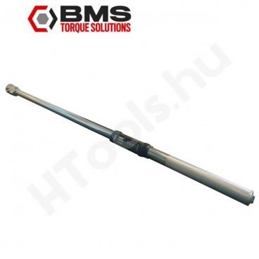 BMS TAW1500BT digitális szög és nyomatékkulcs, 150-1500 Nm, kétirányú Bluetooth adattovábbítás