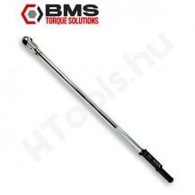 BMS TW600A-BT digitális szög és nyomatékkulcs, 60-600 Nm, kétirányú Bluetooth adattovábbítás
