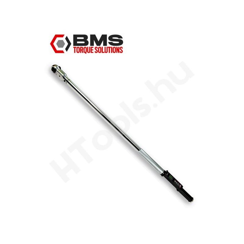 BMS TW600SBT digitális nyomatékkulcs, 60-600 Nm, Bluetooth kétirányú adattovábbítás