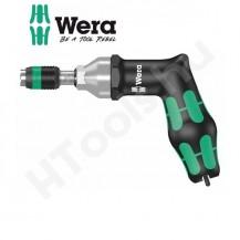 Wera 7442 megcsúszó nyomaték csavarhúzó, pisztoly kialakítás, 3-6 Nm