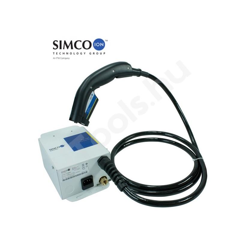 Simco-Ion Top Gun 3 pisztoly ionizátor, 2.1 méter kábelhossz