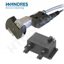 Wandres Janus 50 DE ionizáló fúvóka, állítható teljesítmény, állítható fújásirány, max 6 bar, ES24 tápegység, 250 cm kábelhossz
