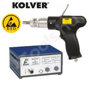 Kolver FAB12PP-FR elektromos csavarozó pisztoly, automata lekapcsolás, 0.2-1.2 Nm, 600-1000 f/perc