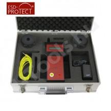 TOM 8600-ME, ellenállás mérőműszer készlet, Tera-Ohm mérőkészlet, 2 db szonda, USB, szoftver, kalibráció