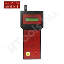 TOM 8600, ellenállás mérőműszer, Tera-Ohm mérő, USB, szoftver, kalibráció