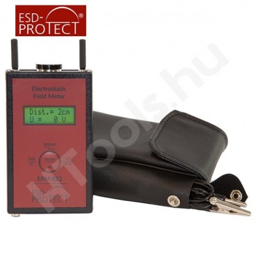 EFM 822 elektrosztatikus térerőmérő, mezőmérő, hordtáska