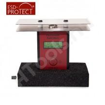 EFM 822 elektrosztatikus térerőmérő, mezőmérő készlet, charged plate set, koffer