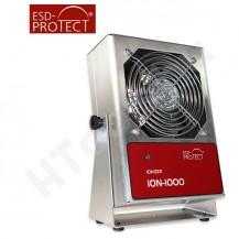 ION-1000 Zero Volt asztali ionizátor, EMIt szoftver kiállás, 30-120 cm ionizációs tartomány, három fokozatú ventilátor