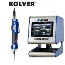 Kolver K-DUCER, KDS kézi szenzor vezérelt nyomatékcsavarozók, KDU vezérlővel, 0.1-15 Nm tartományok