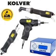 Kolver PLUTO kézi csavarozó sorozat, 0.35-70 Nm nyomatéktartomány, programozható