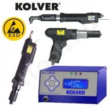Kolver PLUTO-FR kézi csavarozó rendszer, kuplungos nyomatékállítás, EDU2AE-FR vezérlővel, 0.5-7 Nm nyomatéktartományok