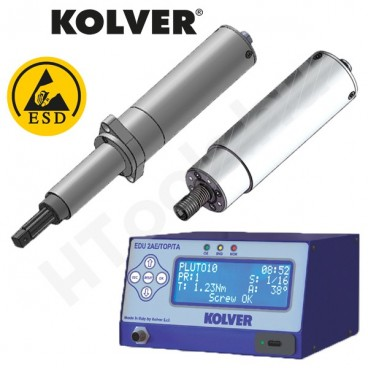 Kolver PLUTO-CA-TA automata csavarozó sorozat, nyomaték és forgásszög programozhatóság, 0.05-50 Nm nyomatéktartomány