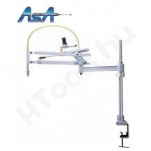 Paralelogramma állvány, ASA PARA-03110-OC, pneumatikus csavarbehajtókhoz, légcsatorna toldattal, 102-838 mm munkaterület