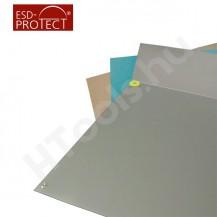 ProMat ESD asztalborítás, 60x100 cm, 10 mm patent, szürke