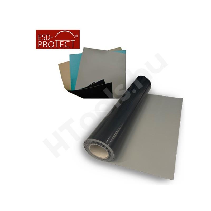 ProMat ESD asztalborítás tekercs, 10 méter hossz, 1.2 méter széles, kék