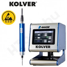 Kolver K-DUCER, KDS-CA automata szenzor vezérelt nyomatékcsavarozók, KDU vezérlővel, 0.1-15 Nm tartományok