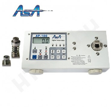 ASA AP-50 digitális nyomatékmérő, 0.075-5 Nm, SJ-10 és SJ-50 mérőfejek, ± 0.5% pontosság, kétirányú, gyártói kalibráció