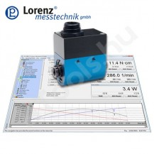 DR-3001 nyomaték szenzor, USB, 0.01-5000 Nm, 0.1 % pontosság
