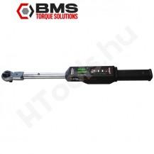 BMS SC160S digitális kattanó nyomatékkulcs, 40-160 Nm kattanás, 20-200 Nm,  USB adattovábbítás