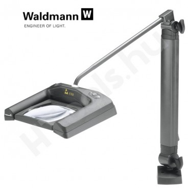 Waldmann SNLQ 54-2 LED ESD nagyítós lámpa 3 dioptria