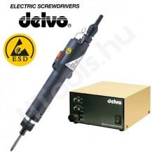 Delvo DLV8540-BKE ESD elektromos csavarozógép, automata lekapcsolás, 1.2-2.7 Nm, 700 f/perc