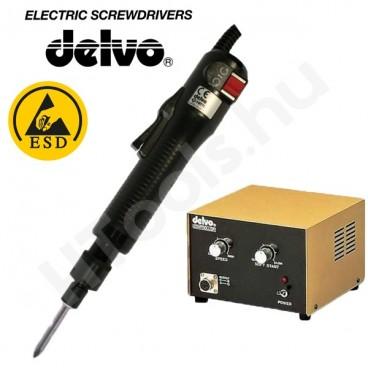 Delvo DLV7331-BKE ESD elektromos csavarozógép, automata lekapcsolás, 0.3-1.2 Nm, 500-700 f/perc