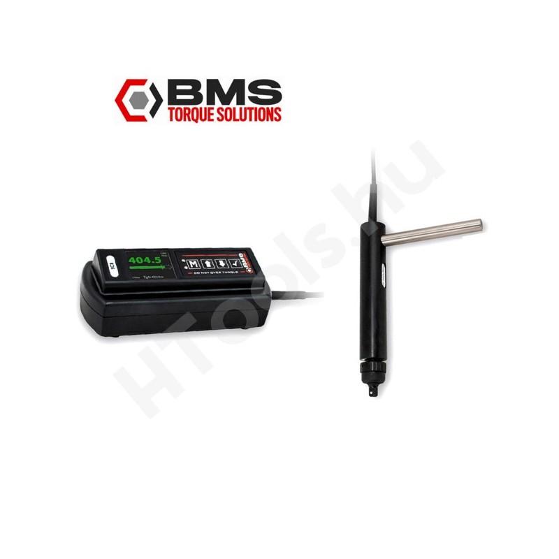 BMS MST010P digitális nyomaték csavarhúzó rásegítő markolattal, 1-10 Nm USB adattovábbítás