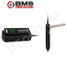 BMS MST010S digitális nyomaték csavarhúzó rásegítő markolattal, 1-10 Nm USB adattovábbítás