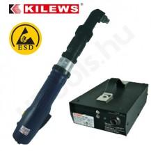 Kilews SKD-LRBK220-ESD elektromos csavarozógép, sarokcsavarozó, automata lekapcsolás, 12-22 Nm, 280-370 f/perc