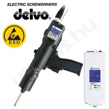 Delvo DLV45A06L-AYK ESD elektromos csavarozógép, automata lekapcsolás, 2-4.5 Nm, 650 f/perc