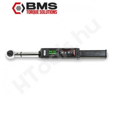 BMS TW135A digitális szög és nyomatékkulcs, 13.5-135 Nm, USB adattovábbítás