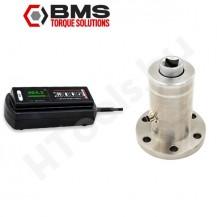 BMS ST600 nyomatékmérő transducer digitális kijelzővel, 60-600 Nm, USB vagy Bluetooth adat továbbítással