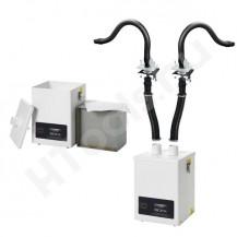 Bofa V250 forrasztási füstelszívó készlet, 2 db elszívókar, HEPA szűrő