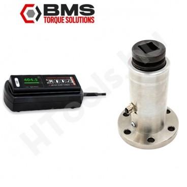 BMS ST2000 nyomatékmérő transducer digitális kijelzővel, 200-2000 Nm, USB vagy Bluetooth adat továbbítással