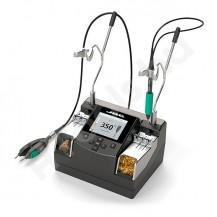 NASE-2C JBC TOOLS digitális magas precíziós nano forrasztó, kiforrasztó, javítóállomás, USB adatkimenet, ESD védett