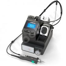 CS-2F JBC TOOLS digitális precíziós kiforrasztóállomás, elektromos pumpa, USB adatkimenet, ESD védett