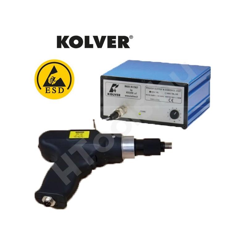 Kolver KBL15P-FR szénkefementes elektromos csavarozó, automata lekapcsolás, 0.4-1.5 Nm, 650-1000 f/perc