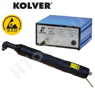 Kolver KBL04FR-ANG szénkefementes elektromos sarokcsavarozó, automata lekapcsolás, 0.04-0.4 Nm, 650-1000 f/perc