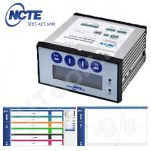 NCTE szenzor kijelző, 4-20mA szenzorokhoz, USB adatkimenettel, Windows szoftverrel