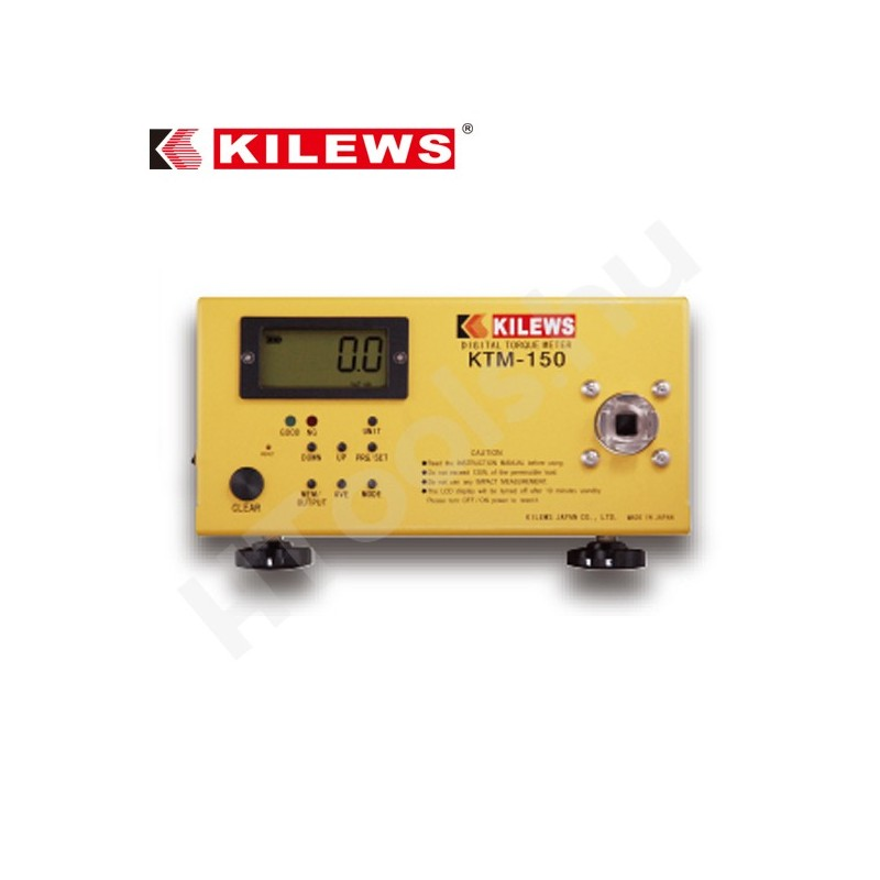 KILEWS KTM-150 digitális nyomatékmérő, 0.15-15 Nm, USB adat továbbítás, AJ-150, AJ-50 és AJ-15K mérőfej, kétirányú, kalibráció