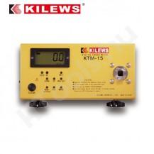 KILEWS KTM-15 digitális nyomatékmérő, 0.015-1.5 Nm, USB adat továbbítás, AJ-15 és AJ-3 mérőfej, kétirányú, gyártói kalibráció