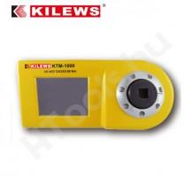 KILEWS KTM-1000 digitális nyomatékmérő, 5-100 Nm , USB adat továbbítás, SJ-1000 mérőfej, kétirányú, gyártói kalibráció