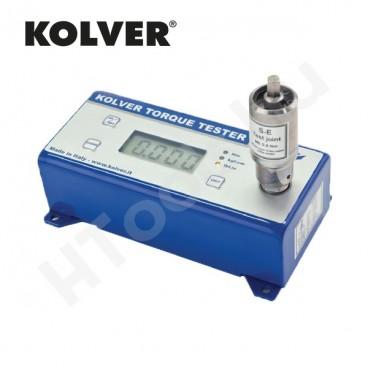 KOLVER mini K5/S digitális nyomatékmérő, 0.3-5 Nm, USB adat továbbítás, egyirányú mérések, gyártói kalibráció