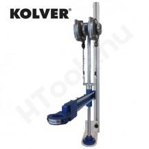 Lineáris csavarozó állvány, KOLVER LINAR1, max 25 Nm, max 4.5 kg, 184-665 mm munkaterület