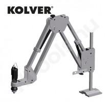 Paralelogramma csavarozó állvány, KOLVER PA7KOL, max 75 Nm, max 10 kg (5+5 kg), 500-950 mm munkaterület