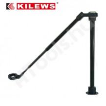 Teleszkópos nyomatékkar, KILEWS KP-AUX-E50-1000, max 50 Nm, 430-1000 mm munkaterület, asztalra fúrható