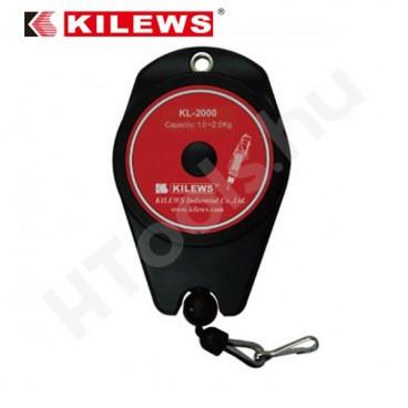 Kilews KL-2000 balanszer 1-2 kg súlymegtartás, 1.6 méter kötélhossz