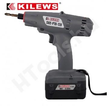 KILEWS SKC-PTA-80, 4-8 Nm, 780-1200 f/perc, elért nyomatékon automata lekapcsolás, szénkefementes